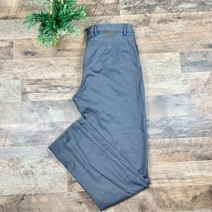 Massimo Dutti Gray Slim Fit Chinos Trouser size 32